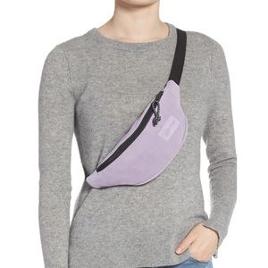Eastpak Springer lilac suede belt bag